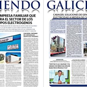 SMG Iberia, Gahelios y Cabager, en El Correo Gallego